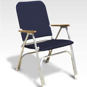 silla estándar para barco / para yate / con reposabrazos / plegable