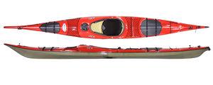 kayak cerrado / rígido / de mar / de travesía