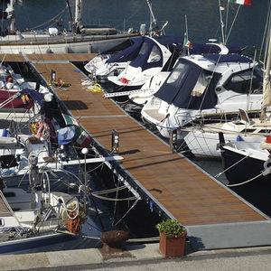 pantalán flotante / de amarra / para puerto deportivo / para puerto