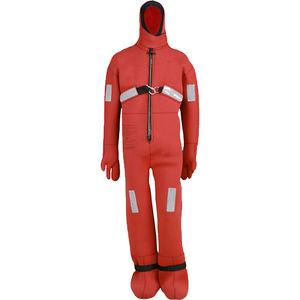 traje húmedo de supervivencia / integral / de una pieza / con capucha