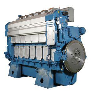 motor para buque de velocidad media / diésel / turbo / Tier 2
