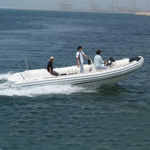 barco profesional barco de trabajo / intraborda / embarcación neumática semirrígida
