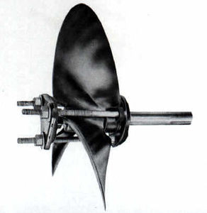 extractor por hélice para barco