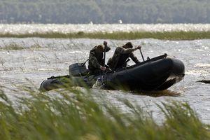 barco profesional barco militar / fueraborda / embarcación neumática plegable