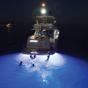 lámpara submarina