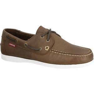 zapatos de cubierta / de cuero