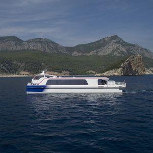 barco profesional barco de pasajeros / catamarán