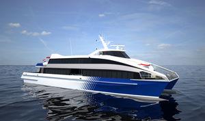 ferri de pasajeros de alta velocidad / catamarán