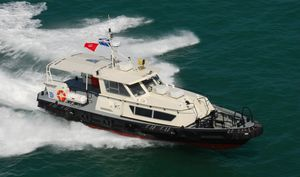 barco profesional barco de transporte de tripulación / hidrojet intraborda / de aluminio