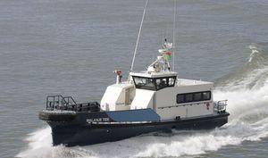 barco profesional barco de transporte de tripulación / intraborda / de aluminio