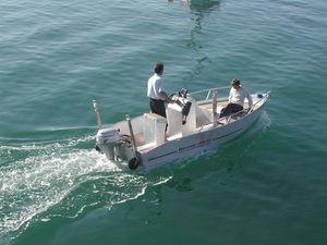 bote fueraborda / de pesca deportiva