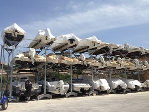 bastidor para barco / para almacenamiento en seco