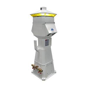 torreta con iluminación integrada / de suministro eléctrico / para pantalán / LED
