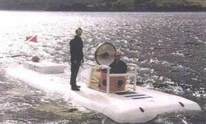 submarino de uso profesional