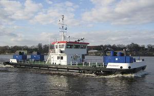 buque multiusos dragador