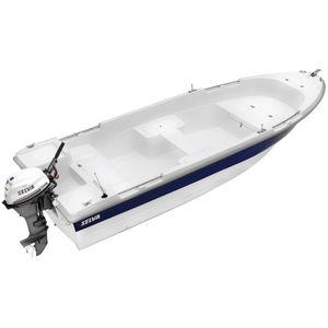 bote fueraborda / open / de fibra de vidrio / 4 personas máx.