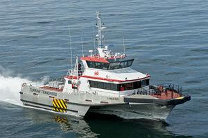 buque de servicio offshore de transporte de tripulación / para parques éolicos