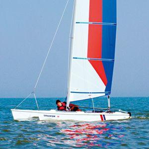 catamarán deportivo para escuela / de recreo / solitario