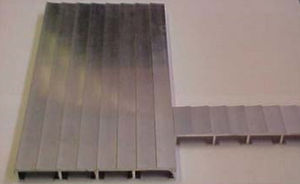 revestimiento de pantalán de aluminio