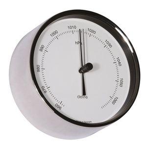 barómetro analógico / de acero inoxidable