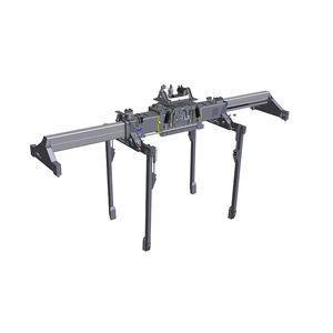 spreader para contenedores / para reach-stacker / para remolque / telescópico