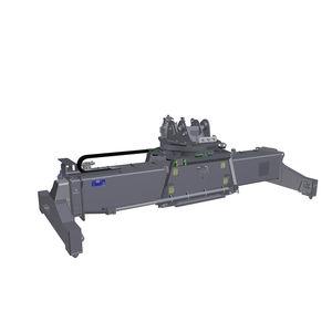 spreader para contenedores / para reach-stacker / telescópico / con rotación
