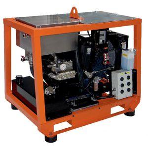 limpiador de alta presión para astillero naval
