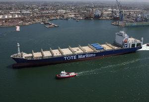 buque de carga portacontenedores / post-panamax / super post-panamax