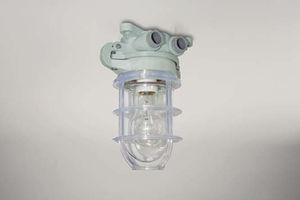 lámpara de emergencia / de exterior / para buque / para inodoro
