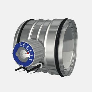 compuerta multilama de regulación / de medición / para buque