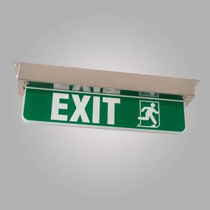 señal de salida de emergencia para buque