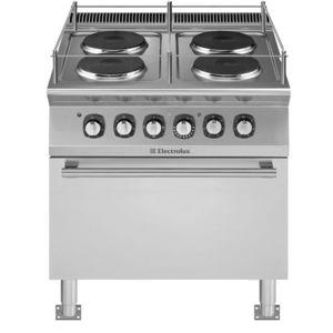 estufa horno para barco / eléctrica / 3 quemadores