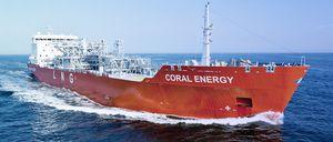 buque de carga transportador de GNL