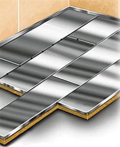 panel para suelo de buque / de acero