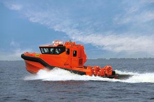 bote de rescate para buque / hidrojet / intraborda / de aluminio