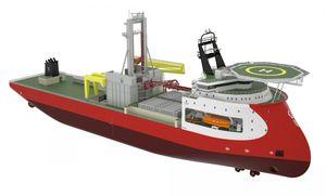 buque especial de perforación