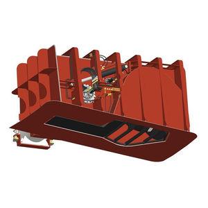 propulsor de proa / acimutal / para buque / de túnel
