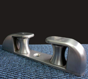 guiacabos para barco / de rodillos / de acero inoxidable