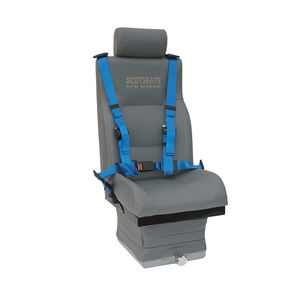 asiento para operador / para barco / respaldo alto / ajustable