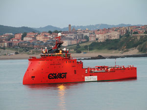 buque de servicio offshore de stand-by
