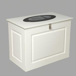 caja de almacenamiento para pantalán / para yate / de fibra de vidrio