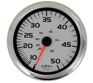 velocímetro para barco / analógico