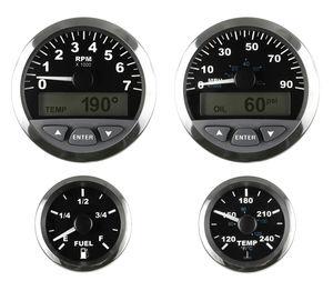indicador para barco / de supervisión / digital / analógico