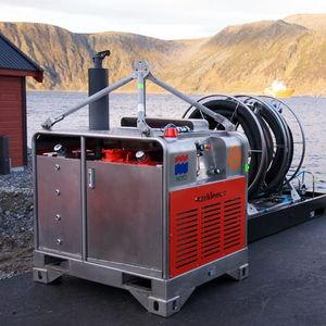 unidad de energía hidráulica para buque antipolución