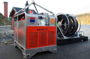 unidad de energía hidráulica para buque antipolución / para puertos y terminales / para skimmer de hidrocarburos