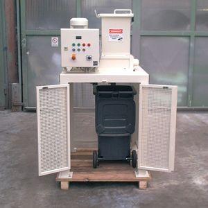 trituradora de residuos de plástico / goma / para buque