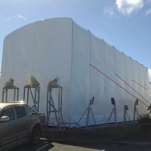 cubierta técnica para la reparación / de pintura