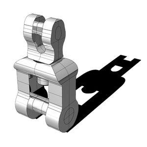 giratorio grillete / para cadenas ancla / de buque