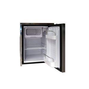 refrigerador para barco / empotrable / de compresores / de acero inoxidable