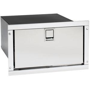 refrigerador para barco / empotrable / de acero inoxidable / de cajón
